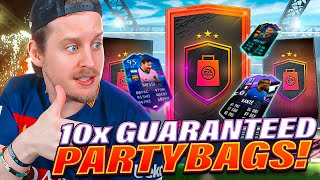 INSANE PARTY BAGS?! 10X GUARANTEED PARTY BAG PACKS! FIFA 21 Ultimate Team