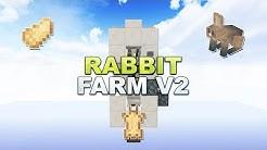Minecraft - Rabbit Farm/Breeder/Cooker V2 // Hasen Farm - Tutorial 1.15