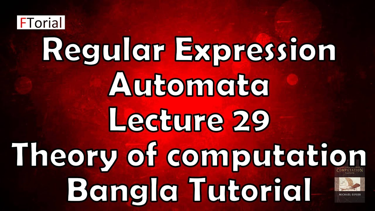 Regular Expression Examples In Automata Lecture 29 Re Theory