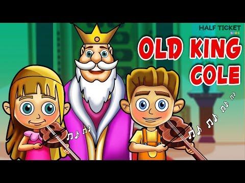 Old King Cole | Nursery Rhymes And Kids Songs With Lyrics