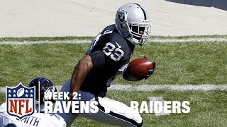 Amari Cooper Goes Deep for 68-Yard TD | Ravens vs. Raiders | NFL