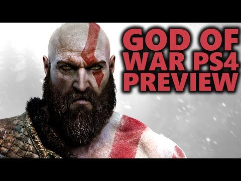 God of War PS4 Hands-On First Impressions | God of War PS4 Preview