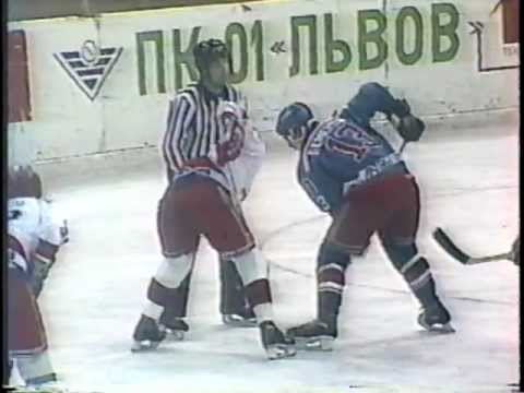 CSKA vs Dinamo Riga [December 1990]