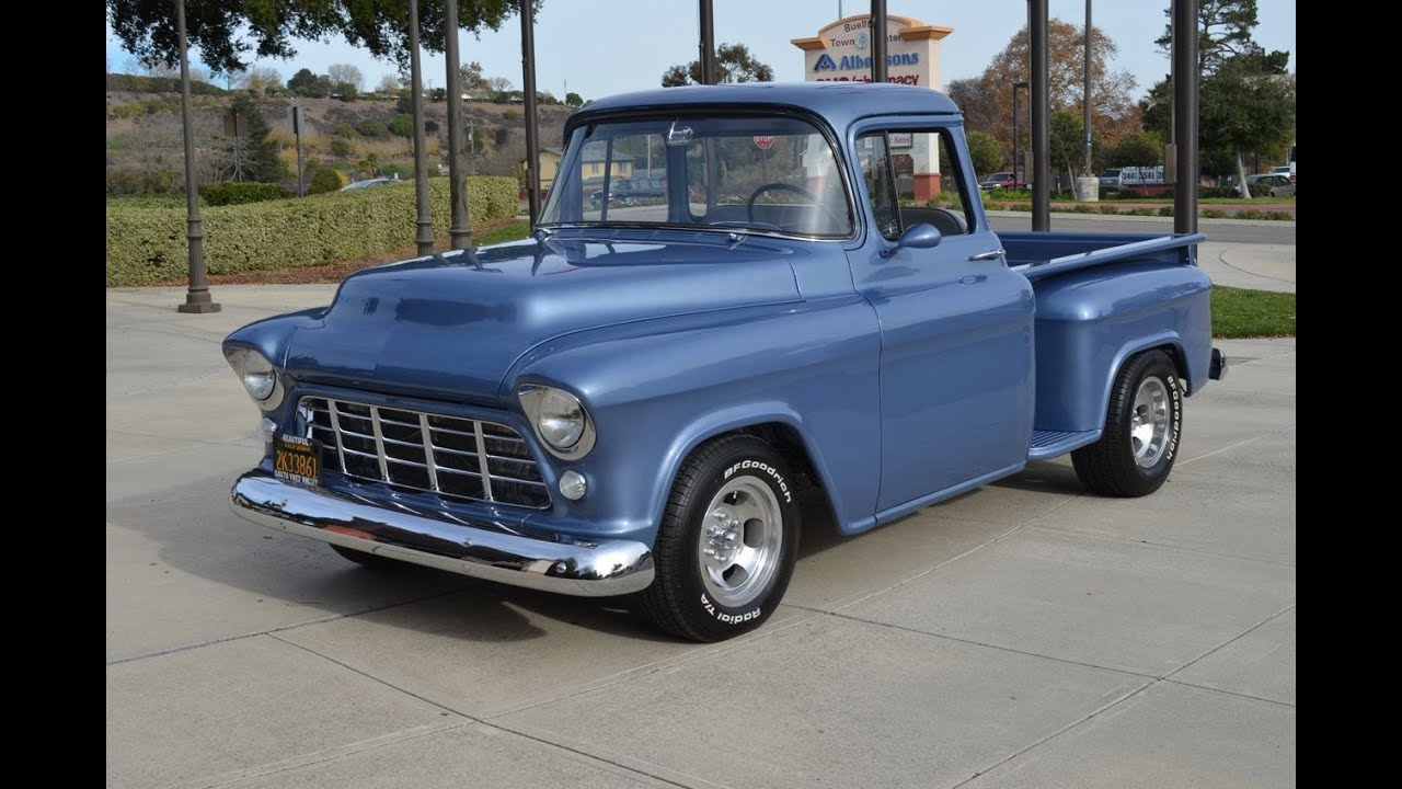 Truck 57 chevy truck bed wood : SOLD: 1956 Chevy Step-Side New Build CA - YouTube