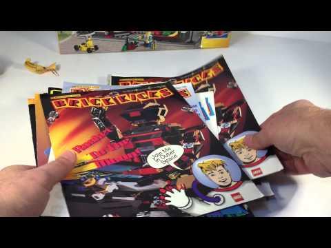 LEGO EBAY HAUL Brick Kicks Magazines! + Toys R Us Coupon Buy