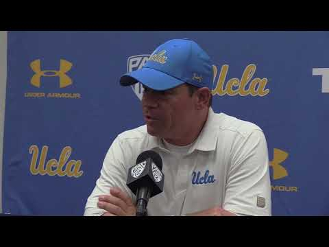 Jim Mora Post Game Presser - UCLA vs. Arizona - 10/14/17