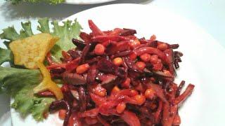 Вкуснейший салат из свеклы/holiday salad