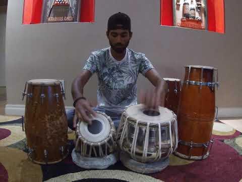 Jai Jai Shivshankar By Benny Dayal & Vishal-shekhar  Tabla Cover  Rithik Narayan