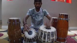 | Jai Jai Shivshankar By Benny Dayal & Vishal-Shekhar | Tabla Cover | Rithik Narayan |
