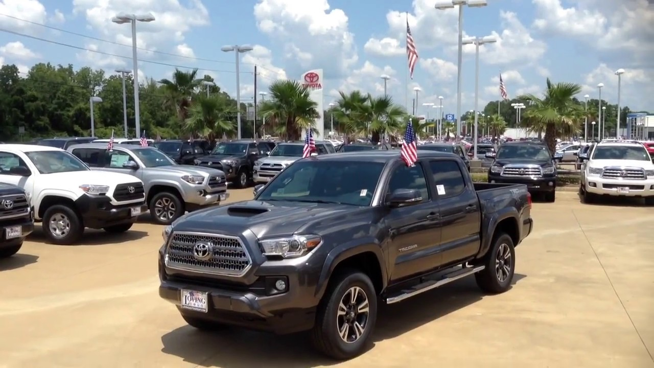 Loving Toyota 2017 Toyota Tacoma Trd Sport Package