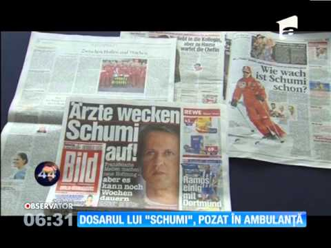 Dosarul medical al lui Michael Schumacher a fost furat de ambulanţieri