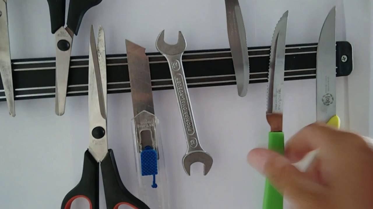305 y 457 mm Silverline 633950 Tiras magn/éticas 3 pzas 203
