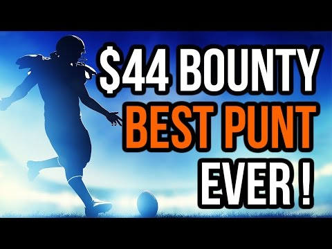 $44 Bounty Builder! CRAZY BOUNTY $5600 1st place