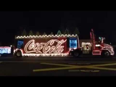 Coca Cola Truck - Redding Lighted Christmas Parade 2012 - YouTube