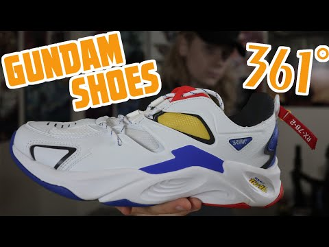 361 Degrees RX78 Gundam Shoes