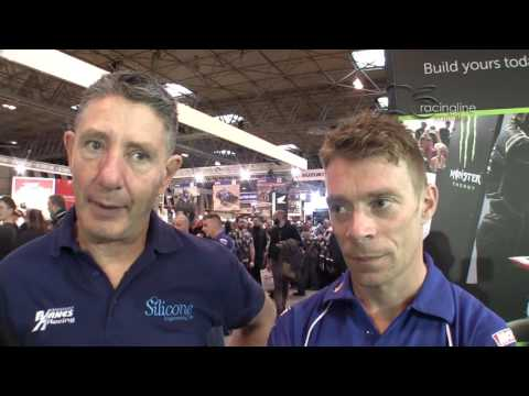 John Holden and Ben Burchall Motorcycle Live 2016