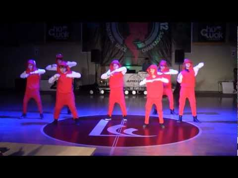 Street dance show - small groups juniors - 1st place