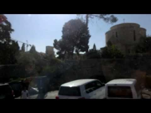 Fahrt durch Jerusalem mit berühmter Musik (Westteil)