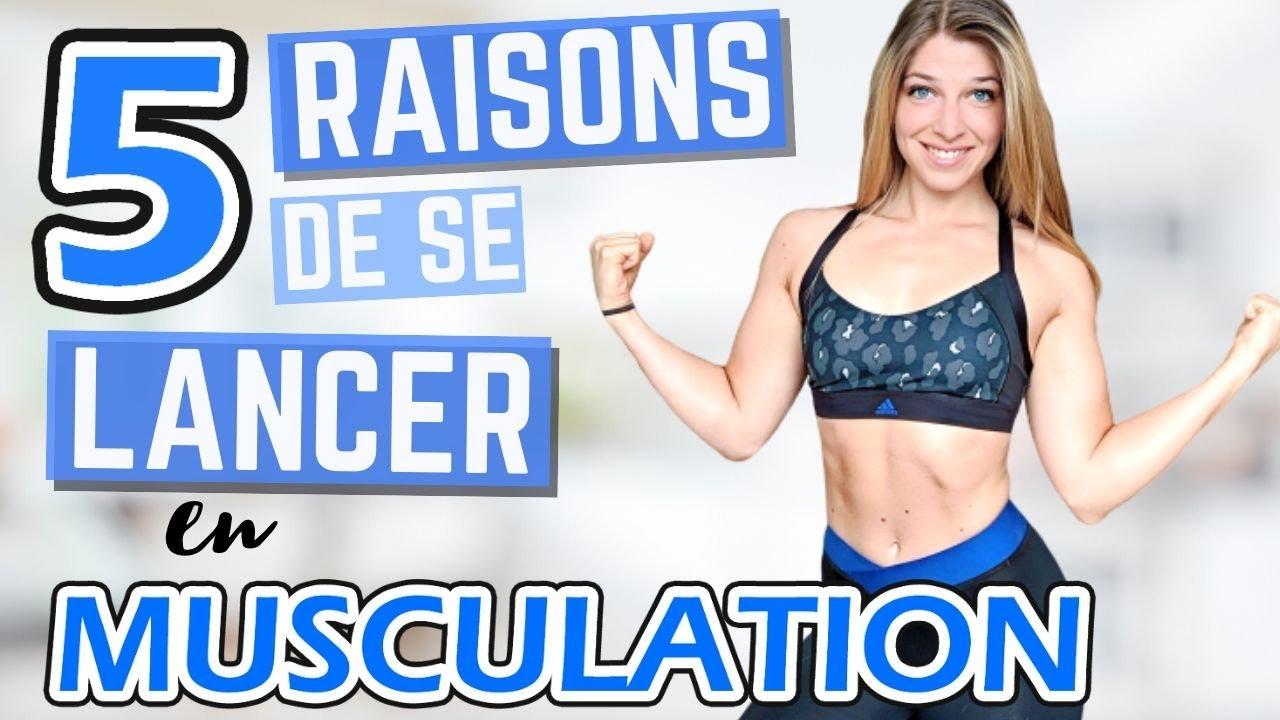 MUSCULATION ET FEMME : 5 RAISONS DE S'Y METTRE