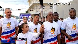 Videoclip Antorcha Juegos Nacionales 2018 Recorrido San Jose de Ocoa