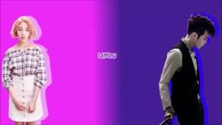 JUN. K & Baek A Yeon - Don't Go ( 가지마 ) // Color Coded Lyric