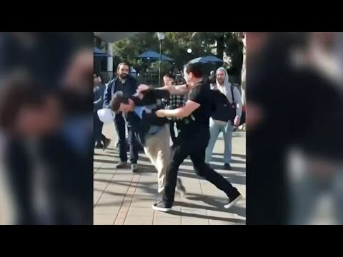 Caught on Camera: Conservative Assaulted on UC Berkeley Campus
