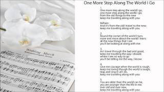 One More Step Along The World I Go (w/ Lyrics). Popular Wedding Hymns