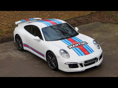 2014 Porsche 911 Martini Racing Edition For Sale At Romans International Youtube
