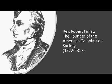 The American Colonization Society Video
