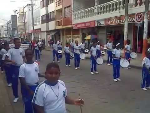Escuela de música marcial itpc (banda de paz) serrucho 27 de junio 2014 tumaco nariño