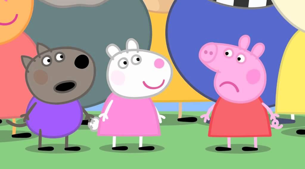 粉紅豬小妹 小豬佩琪第129集 土豆先生來鎮上了 - YouTube