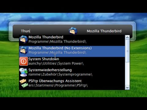 Launchy - Open applications Easier on Windows! - YouTube