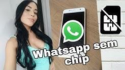 Como ativar whatsapp sem chip // 2019