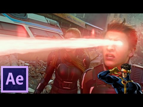 Cyclops | After effects Tutorial VFX X-MEN Heat Vision - Laser Beam