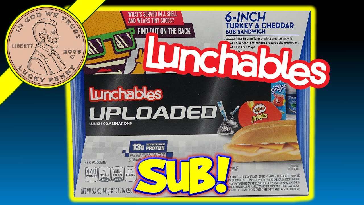 Watch on different kinds of lunchables