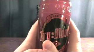 true blood o positive collectible drink bottle review