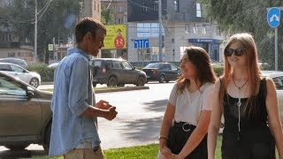 Asian Foreigner Get Russian Girls Number By Guessing Names