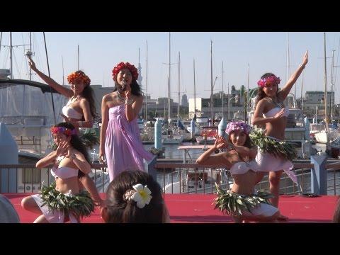 MADOKA  & MOEHERE   Tokyo Yumenoshima marina Hawaii & Tahiti Festival 2015