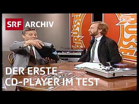 Erster CD-Player (1982)   SRF Archiv