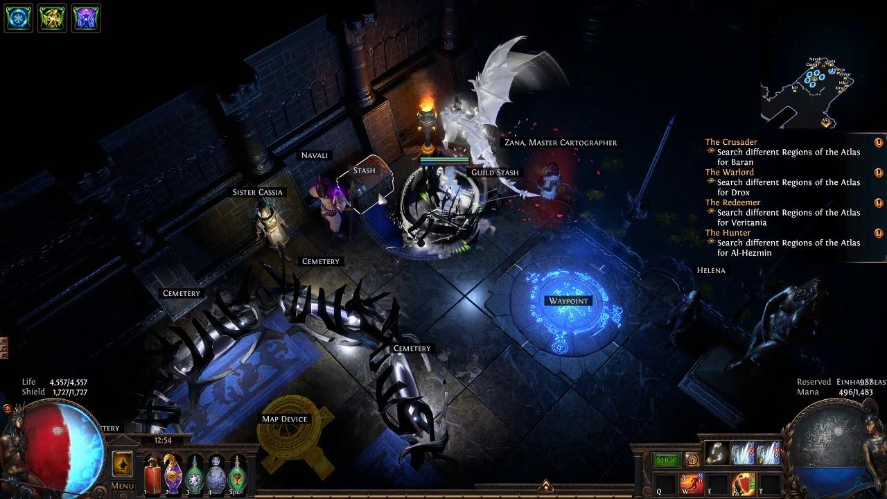 Path of Exile - 3.9 Atlas Progress Guide