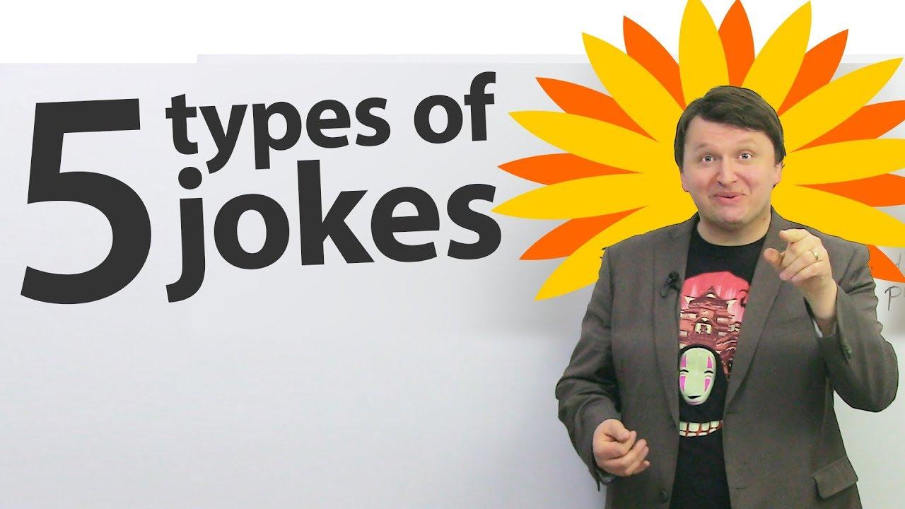 5 Types Of Jokes In English Youtube