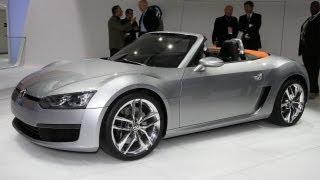 Volkswagen Concept BlueSport Videos