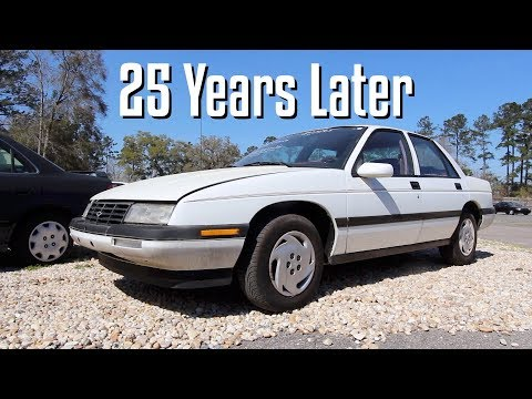 25 Years Later - The 1993 Chevrolet Corsica LT Review | Condition In 2018