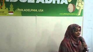 KepadaMu Kekasihku oleh novia kolopaking di masjid Alfalah philadelphia