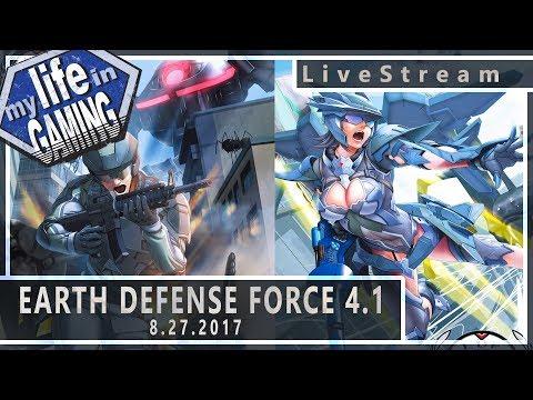Earth Defense Force 4.1 Co-Op 8.27.2017 :: LiveStream - Earth Defense Force 4.1 Co-Op 8.27.2017 :: LiveStream