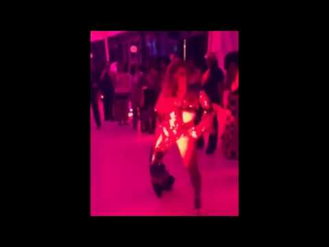 BEYONCE & Jay Z At Her Soul Train Themed Birthday - Blue Ivy Speaks (VIDEO & PICS)