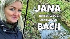 Jana unterwegs am kleinen Bach | Spinnfischen Hannover | Angeln am Bach auf Flussbarsch | Vlog #36
