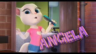 My Talking Angela Great Makeover My Talking Tom Episode Full Game for Children HD Games