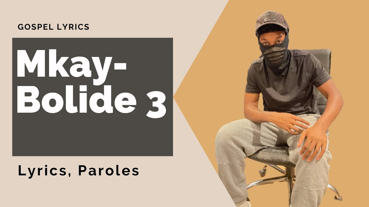 Mkay - Bolide 3 (Paroles)