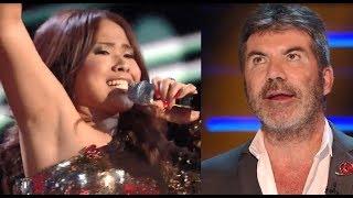 "Simon Cowell Criticizes Alisah Bonaobra's Version of ""Let's Get Loud"" on X Factor UK"